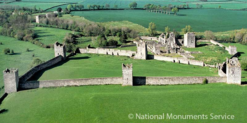 Kells Priory - Image © National Monuments Service