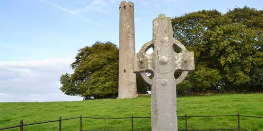 Kilree Irish High Cross : image © The Irish Place