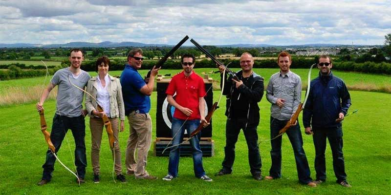 Shooting and Archery Kilkenny : stay at Blanchville House © CountrysideLeisureActivityCentre.ie